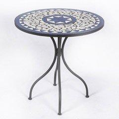 Ellister Palermo Mosaic Patio Table - 60cm