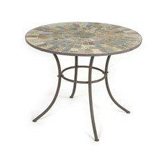 Ellister Nova Mosaic Patio Table - 80cm