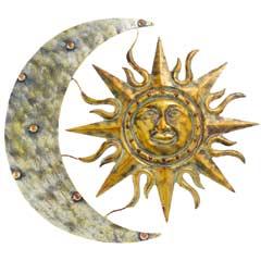 Gardman Aztec Sun & Moon Wall Art