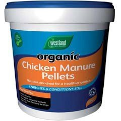Westland Chicken Manure Pellets 10kg Tub
