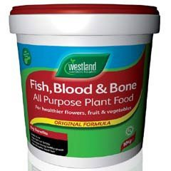 Westland Fish Blood and Bone 10kg Tub