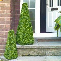 Gardman Leaf Obelisk Topiary - 60cm