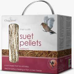 Chapelwood Suet Pellets - Mealworm 3kg