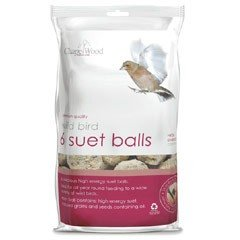 Chapelwood Small Suet Balls - 6 pack