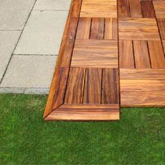 My Patio Tile FSC Decking Tile Corner Reducer - Pair