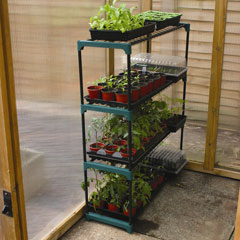 Botanico Greenhouse Staging Shelves