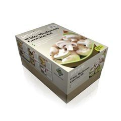 Unwins White Mushroom Kit - Half Size Growing Kit