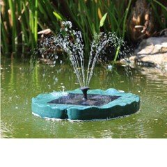 Bermuda Lilypad Floating Fountain Pump