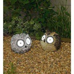 Smart Solar Owl Spot Lights - Pack of 2