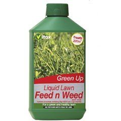 Vitax Green Up Liquid Feed & Weed - 1 lt