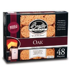 Bradley Smoker Bisquettes - Oak Flavour