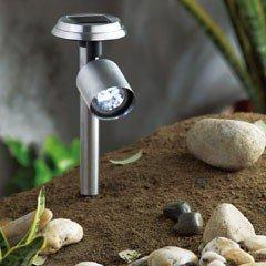Stainless Steel Solar Spotlight Solar Lighting
