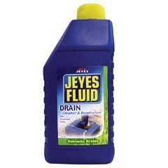 Jeyes Fluid Drain Unblocker and Deodoriser - 500ml