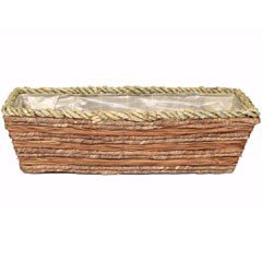 Natural Blend Rectangular Planter