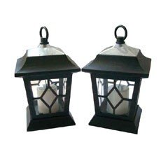Solar Candle Coach Lantern - Pack of 2