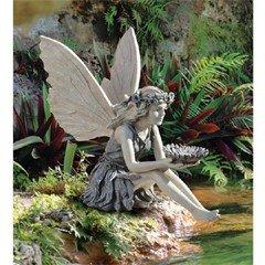 Design Toscano Sunflower Fairy Garden Statue