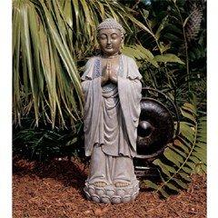 Toscano Enlightened Buddha Garden Statue - Hands Together