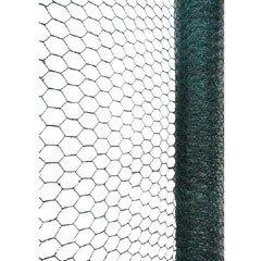 PVC Coated Galvanised Wire Netting - 5m x 0.6m x 2.5mm