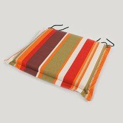 Greenfingers Folding Armchair Cushion in Autumn Hues - 42.5 x 40cm