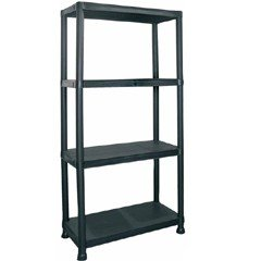 4 Tier Shelving Unit - 130cm high