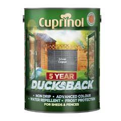 Cuprinol 5 Year Ducksback Silver Copse 5 Litres