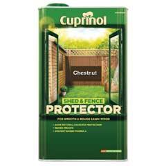 Cuprinol Shed & Fence Protector Chestnut 5 Litres