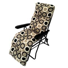 Greenfingers Tubular Standard Relaxer - Beige/Black Circles Design