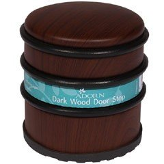 Adorn Dark Wood Door Stop