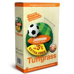 Johnsons Tuffgrass Grass Seed 500g PLUS 25% EXTRA FREE