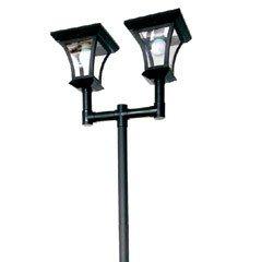 Solar Double Lamp Post