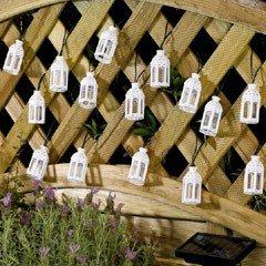 Smart Solar Moroccan Lantern Solar Lights - Set of 16
