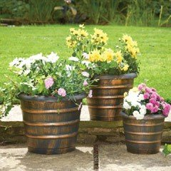 Beehive-Shaped Planters - Set of 3