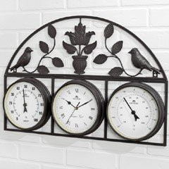 Wall Frame Bird Weather Station