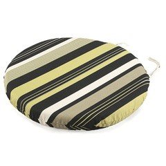 Greenfingers Round Seat Pad in Mojito - 38cm