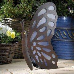 Animalites Butterfly Solar Garden Ornament