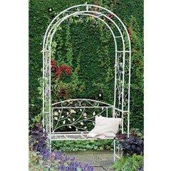 Gardman English Rose Arch with Seat
