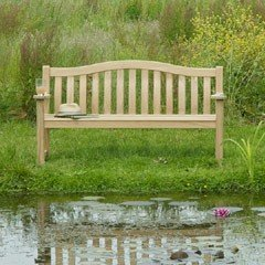 Alexander Rose FSC Roble Turnberry Bench - 4ft