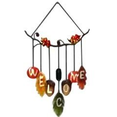 Adorn Autumn Welcome Wind Chimes