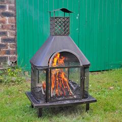 Heritage Fireplace Chiminea