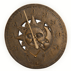 Belbroughton Clock & Thermometer Combination
