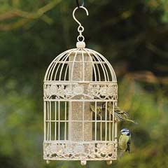 Chapelwood Antique Seed Feeder - Cream