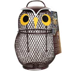 Chapelwood Fun Bird Feeder - Little Owl