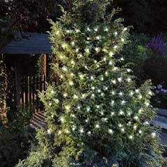 Cole and Bright 150 LED Solar String Lights - White