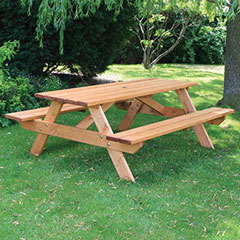 Anchor Fast Somerset FSC Pine 180cm Picnic Bench