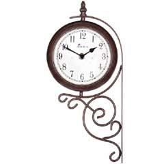 Shilton Station Clock & Thermometer