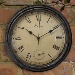 Ettington Clock & Thermometer