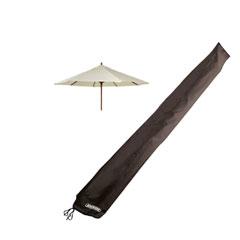 Bosmere Storm Black Large Parasol Cover 153 x 53cm