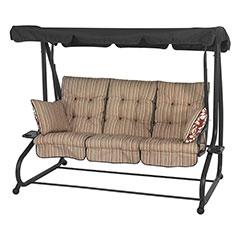 Glendale Marbella Stripe Bed Swing Seat Hammock