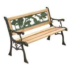 Kids Wooden Garden Bench 82cm