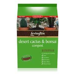 Levington Desert Cactus & Bonsai Compost -  8 Litre